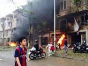Tái hiện lại vụ nổ kinh hoàng tại KĐT Văn Phú, Hà Đông