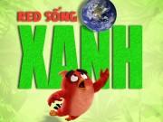 """Xem & Đọc - Red của """"Angry Birds"""" trở thành đại sứ danh dự của Liên hợp quốc"""