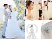Lưu Thi Thi mặc váy cưới 11 tỷ đồng gây choáng váng