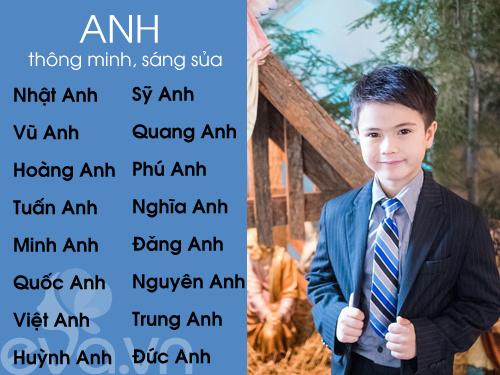 top ten sang, nghia dep cho be trai 2016 (phan 1) - 2