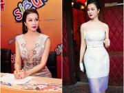 """MC Thanh Mai trẻ đẹp ngỡ ngàng trên  """" ghế nóng """""""