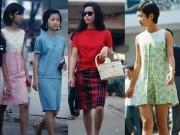 Váy ngắn sexy đến ngỡ ngàng của phụ nữ Sài Gòn xưa