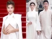 """Làng sao - Á hậu Diễm Trang: """"Vợ chồng vẫn phải xa nhau lúc tôi có bầu"""""""