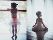 Làm mẹ - Con gái Xuân Lan diện váy balê xinh như công chúa nhỏ