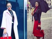 Thời trang - Phạm Hương khiến fan mãn nhãn khi khoe sắc ở Đức