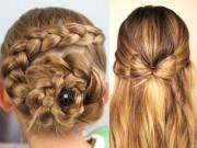Làm mẹ - 3 kiểu tóc tuyệt đẹp, nhìn là mê cho bé gái