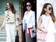 Nữ công sở mặc đẹp như Hà Tăng không hề khó!
