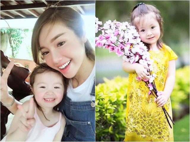 2 khoảnh khắc đối lập của con gái Elly Trần liên tục gây thương nhớ dân mạng