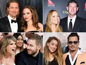 Đến Angelina Jolie - Brad Pitt còn ly hôn, năm qua là năm chia tay của sao Hollywood