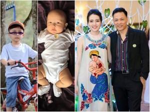 Bà xã Ngô Quang Hải bất ngờ khoe ảnh cận mặt 2 con trai đáng yêu
