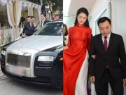 Giải trí - Chồng đại gia tặng siêu xe 10 tỷ đồng cho Hoa hậu Thu Ngân trong đám hỏi