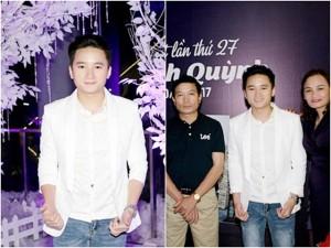 Bố mẹ Phan Mạnh Quỳnh lặn lội từ Nghệ An vào chúc mừng con trai