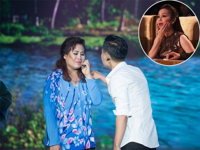 Cẩm Ly rớt nước mắt khi Nguyên Khang tát bạn diễn