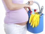 Dọn nhà đón Tết, mẹ bầu phải lưu ý 8 điều này để không hại thai nhi