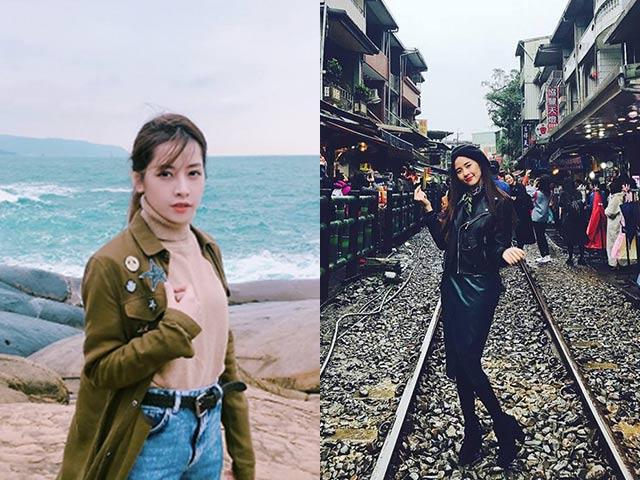 4 mỹ nhân Việt vô tình cùng du lịch Đài Loan đầu năm, lịch trình của ai cũng đẹp như mơ