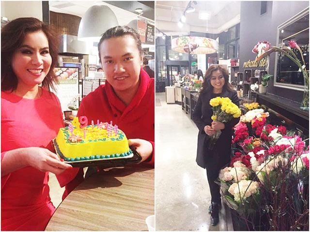 Không ồn ào, sang chảnh, Hoa hậu Kim Hồng đã đón sinh nhật như thế này ở Mỹ