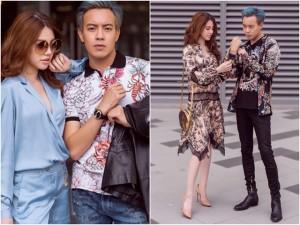Không cô đơn chút nào, Jolie Nguyễn cũng có người để cùng xuống phố dịp Valentine