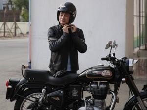 """MC Anh Tuấn cùng 100 biker diễu hành mô tô khủng trước show """"Trần Lập - Hẹn gặp lại"""""""