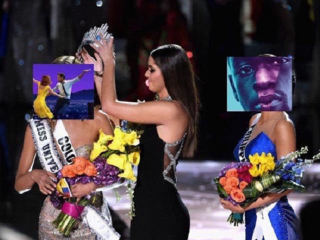 """""""Chết cười"""" với ảnh chế MC trao nhầm giải Oscar 2017"""