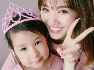 Hari Won mong có con gái, thích mê tiểu công chúa hài hước nhà Huy Khánh