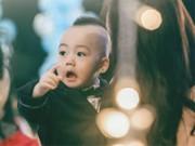 Clip Eva - Video: Siêu mẫu Ngọc Thạch dạy con trai 2 tuổi học chữ và tiếng Anh trước giờ đi ngủ
