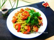 Bếp Eva - Đơn giản mà ngon cơm với su su xào tôm
