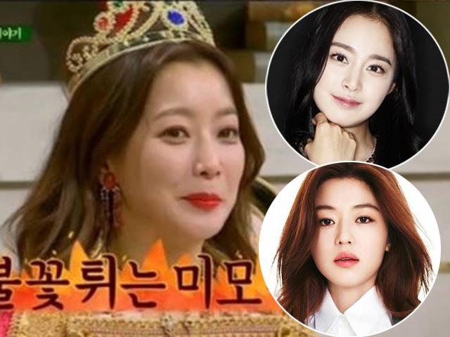 Bị so sánh với Kim Tae Hee, Jeon Ji Hyun, Kim Hee Sun tự nhận mình đẹp nhất
