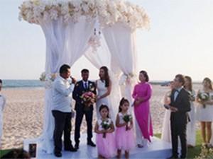 Video: Chồng Ấn Độ của diễn viên Nguyệt Ánh hứa sẽ chăm sóc và yêu thương vợ đến hết quãng đời này