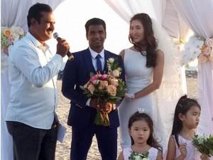 Lời căn dặn đầy xúc động của mẹ Nguyệt Ánh trong hôn lễ của con gái