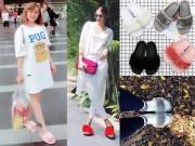 Thời trang - Chị em Việt quả là nhanh thay lòng đổi dạ, đôi dép từng chê tơi bời giờ lại đua nhau đi