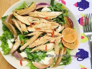 5 món salad gà giúp giảm mỡ thừa lấy lại vóc dáng cho chị em