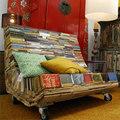 Nhà đẹp - Thích thú nội thất làm từ sách cũ
