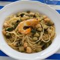 Bếp Eva - Mỳ Ý xốt tôm và bí ngồi kiểu mới