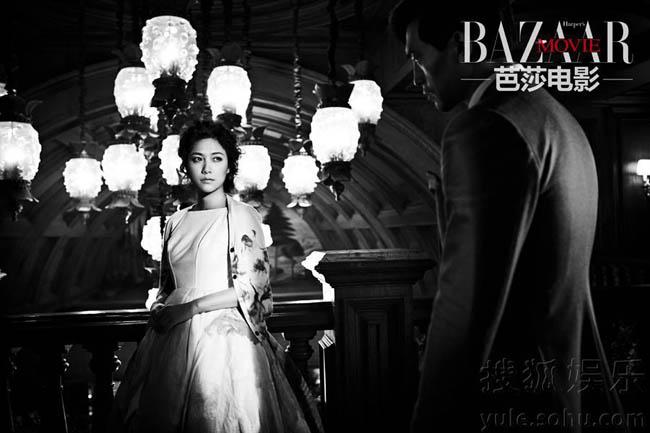 Trên tạp chí Bazaar Movie số mới nhất, Từ Tịnh Lôi - tài nữ của làng nghệ Hoa ngữ hóa thân thành cô tiểu thư của những thế kỷ trước, đậm nét kiêu sa, đài các