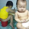 Làm mẹ - Ảnh bé ngộ nghĩnh chỉ có ở Việt Nam