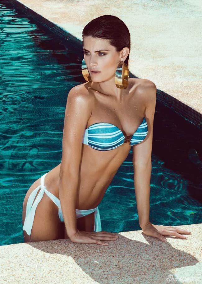 Hè về, bikini là trang phục được phái đẹp 'săn đón' cho mùa đi biển. Siêu mẫu Brazil Isabeli Fontana được chọn là gương mặt trình diễn các mẫu bikini đẹp hè này cho chị em.