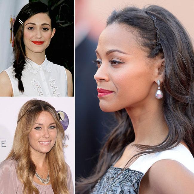 Thời gian để đợi những sợi tóc mái lỡ cỡ dài ra sẽ thật khó chịu với những bạn gái trong ngày hè này. Hay đơn giản hơn, bạn cảm thấy đã tới lúc cần làm mới cho gương mặt mà không muốn cắt tóc. Hãy thử một số mẹo nhỏ như các sao Hollywood đã làm.