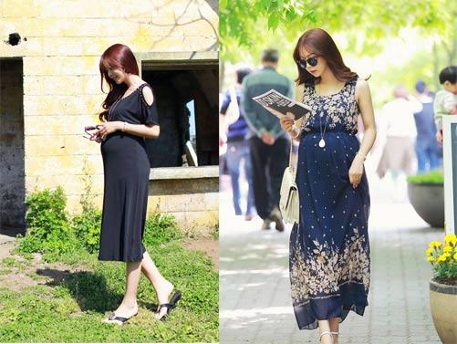 Image result for Thời trang đẹp cho mẹ bầu