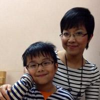 Con trai MC Thảo Vân giống mẹ như tạc