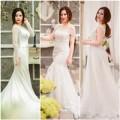 Thời trang - Chọn váy 'chuẩn' cho cô dâu nấm lùn