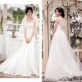Thời trang - 4 mẫu váy cưới 'cứu cánh' cho cô dâu gầy