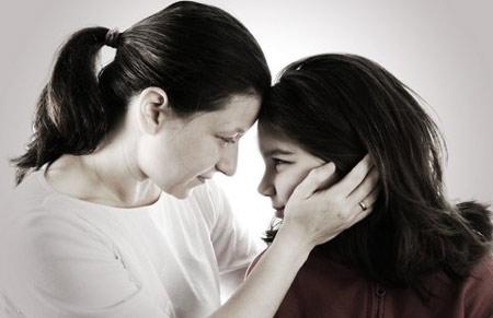 Thấm thía lời mẹ Mỹ dạy con gái