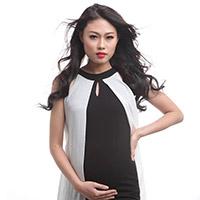 Mai Giang Next Top thon gọn khi mang bầu