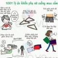 1001 lý do dễ thương khiến phụ nữ cuồng mua sắm