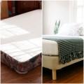 Đóng giường mới tinh tươm từ đệm cũ