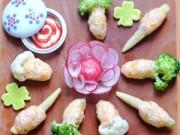 Bếp Eva - Tôm bọc rau củ hấp đơn giản mà ngon