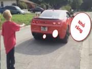 Clip Eva - Độc chiêu nhổ răng cho con bằng siêu xe