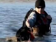 Clip Eva - Chú chó cứu mạng chủ một cách tài tình