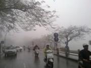Tin tức - Không khí lạnh tràn về, Hà Nội có mưa dông