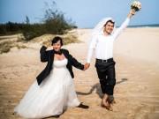 Eva Yêu - Hài hước bộ ảnh cưới cô dâu to gấp rưỡi chồng